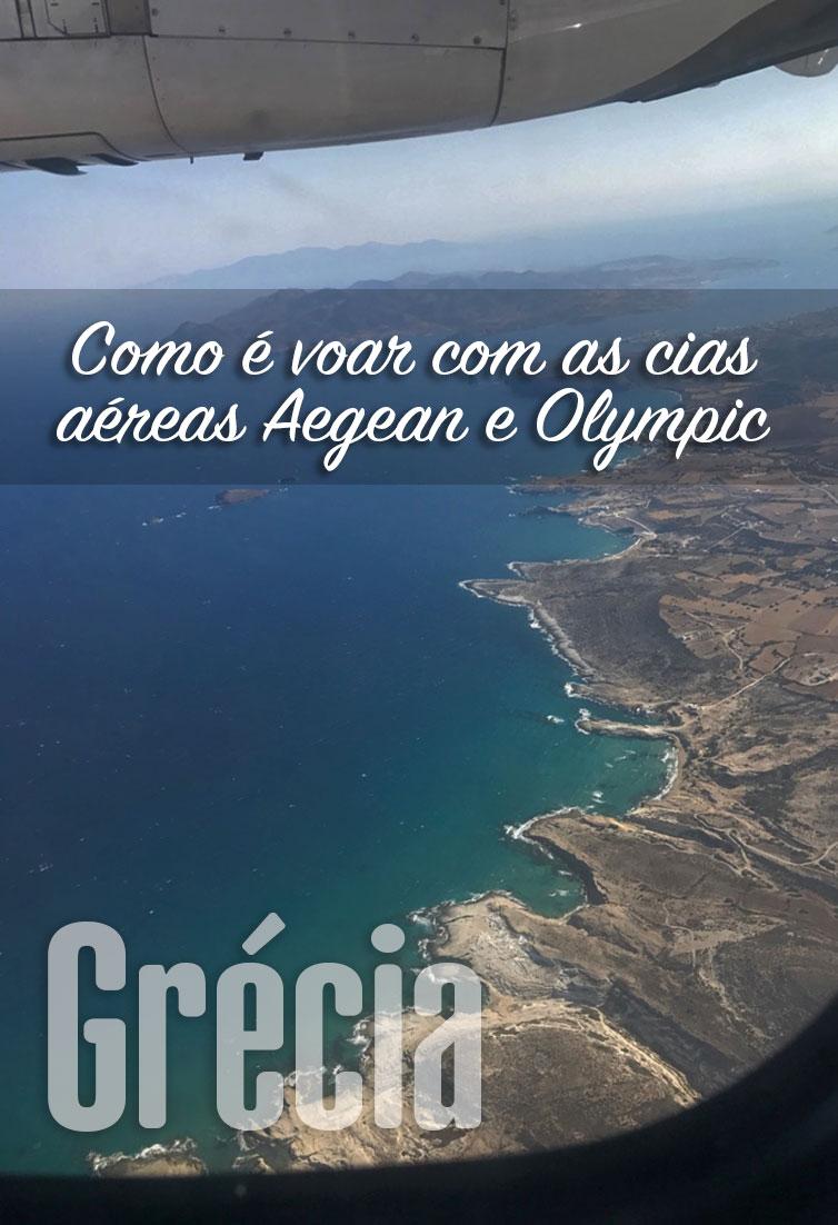 Aegean e Olympic 2 cias aéreas gregas