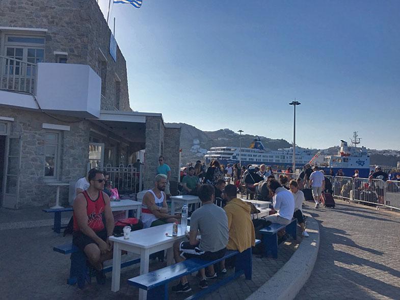 Porto de Milos