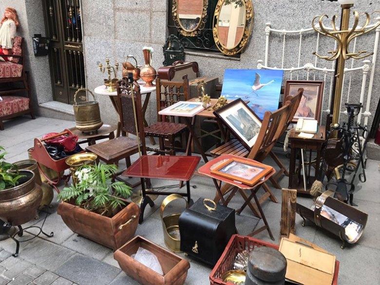 Mercado do Rastro em Madrid