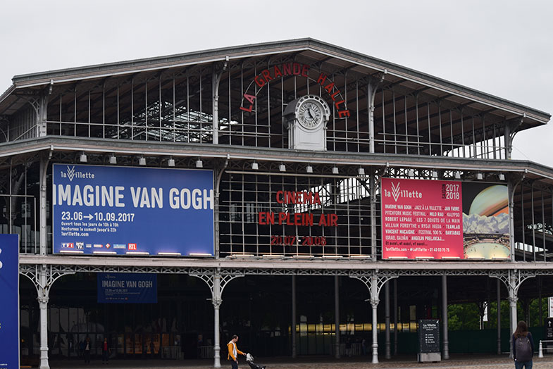 Imagine Vah Gogh no Grande Halle de la Villette