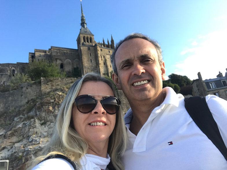 Viagem para Mont Saint Michel