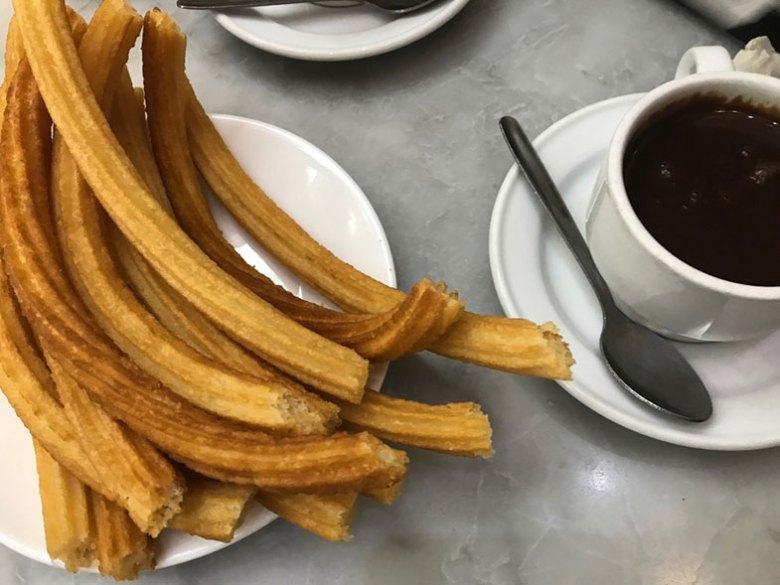 O melhores churros em Madrid