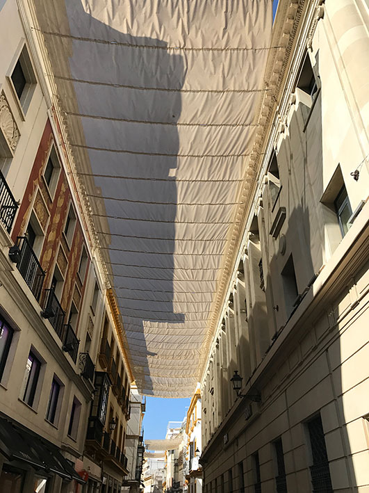 Calle Tetuán em Sevilha