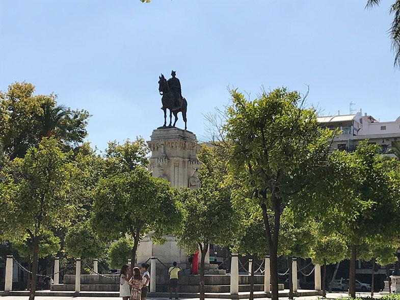Plaza Nueva em Sevilha