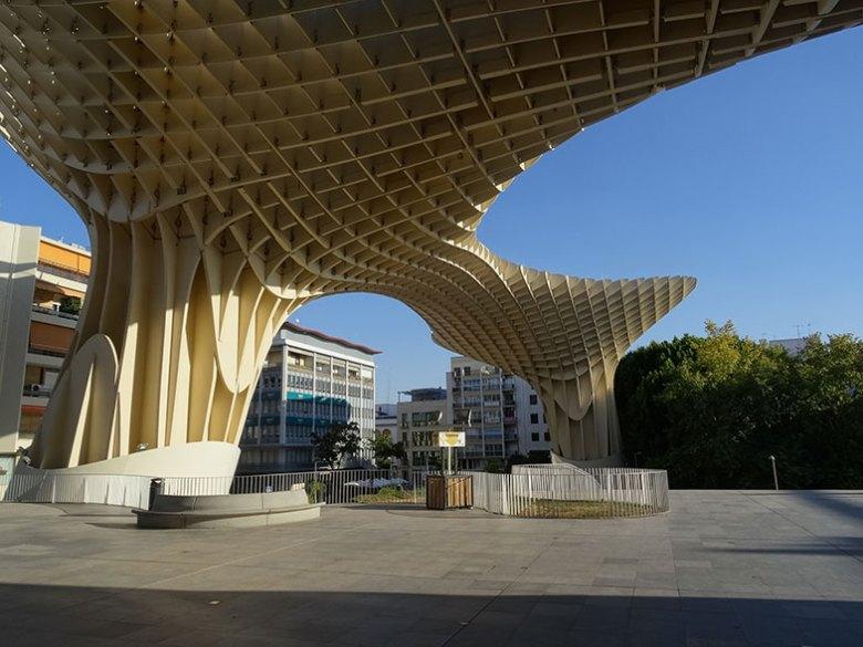 Metropol Parasol em Sevilha