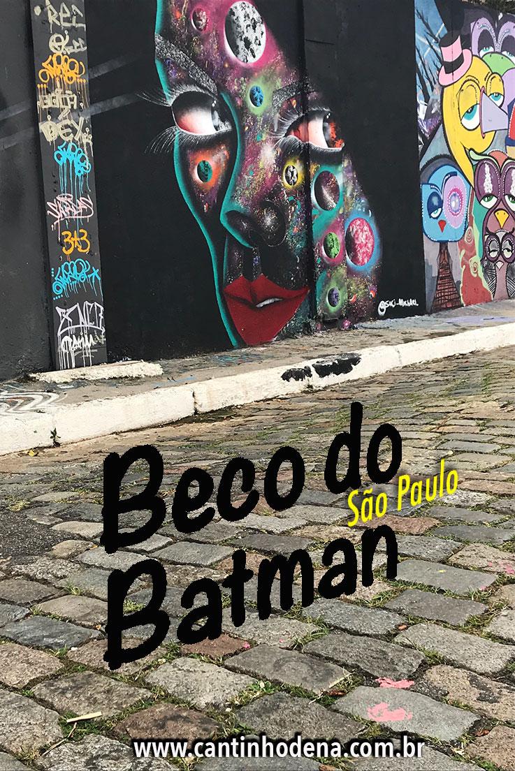 Passeio pelo Beco do Batman em São Paulo
