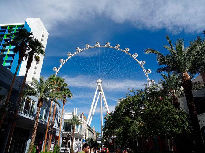 Atração para crianças em Las Vegas
