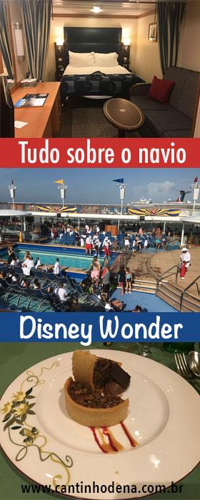 Tudo sobre o navio do cruzeiro Disney Wonder