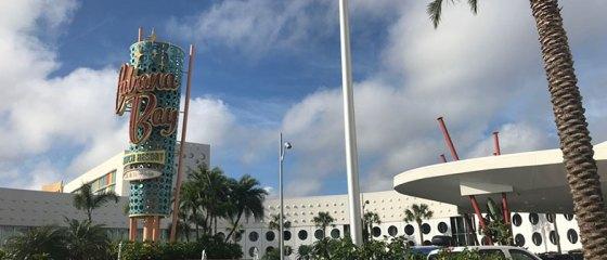 Cabana's Bay Resort hotel dentro da Universal