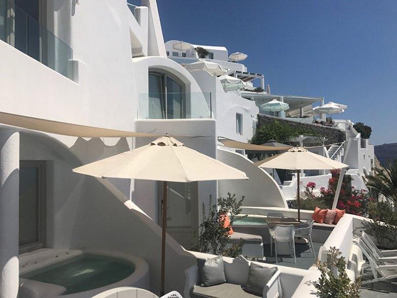 Onde ficar em Santorini