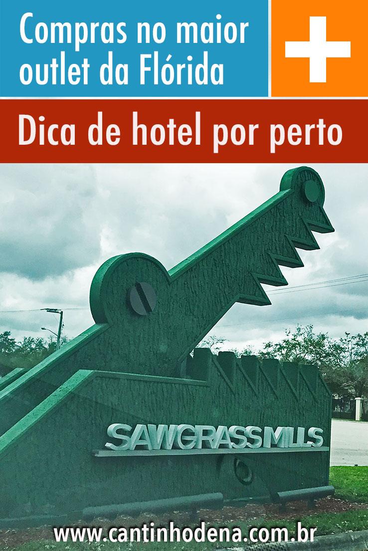 Como é o Sawgrass e dica de hotel por perto