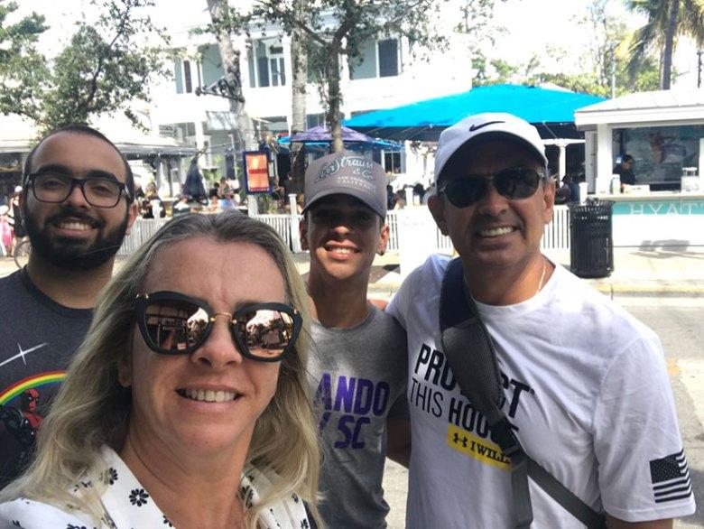 Parada do Cruzeiro Disney Wonde em Key West