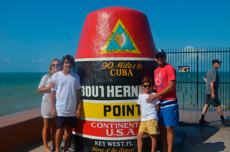 Southernmost Point em Key West
