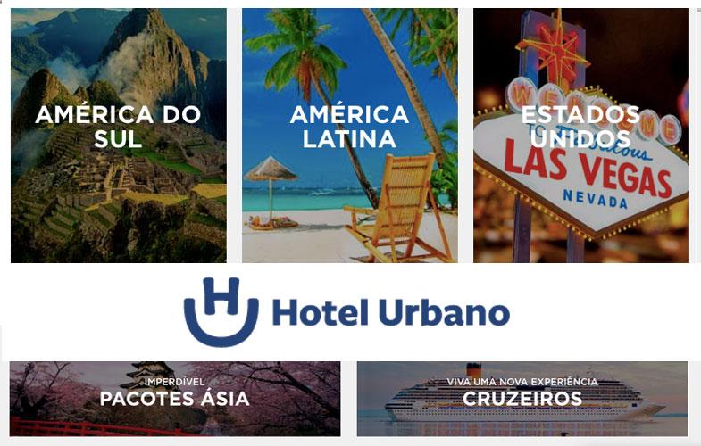 Viaje comprando um pacote Hotel Urbano