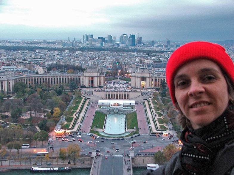 Trocadero visto do alto da Torre Eiffel