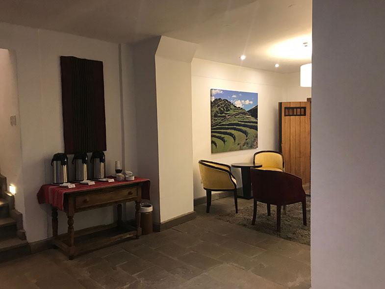 Recepção - hotéis em Cusco no centro