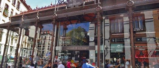 Mercado de San Miguel em Madrid