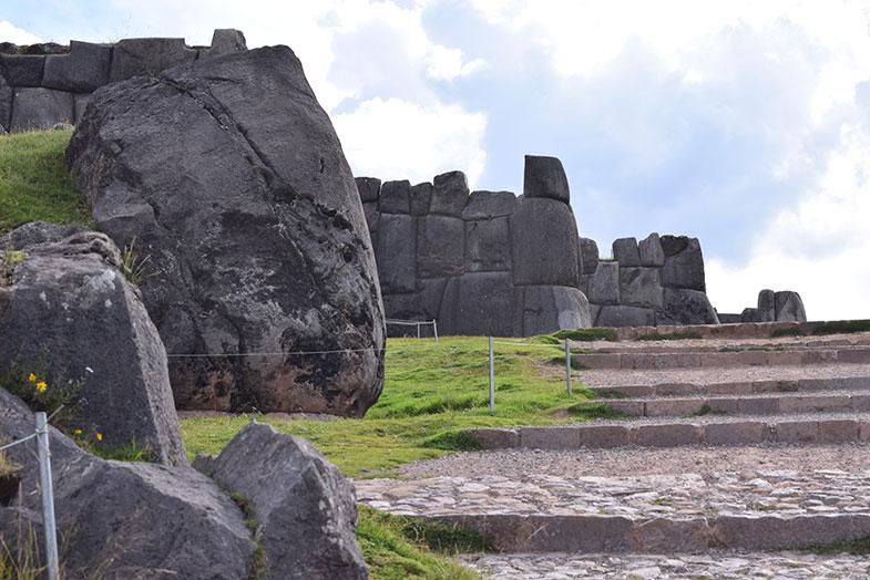 Sacasayhuaman em Cusco no Peru