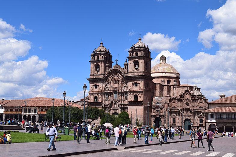 Catedral de Cusco no Peru
