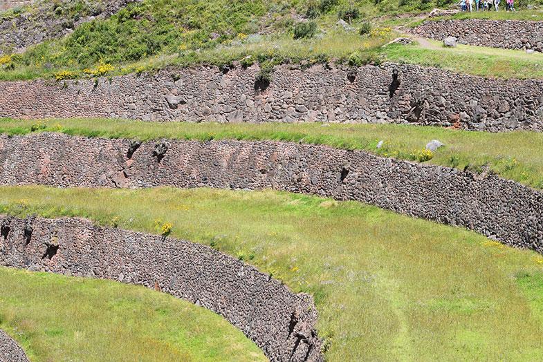 Pisac no Vale Sagrado no Peru