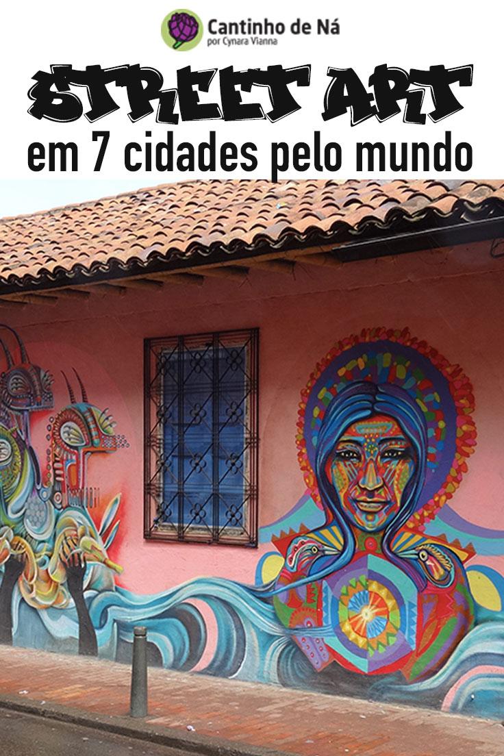 Onde encontrar Street art pelo mundo