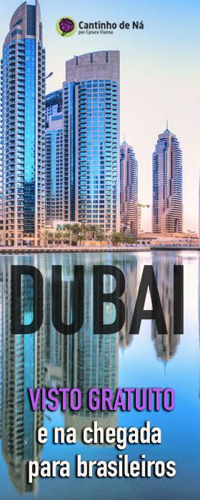 Visto para Dubai na chegada e sem custos