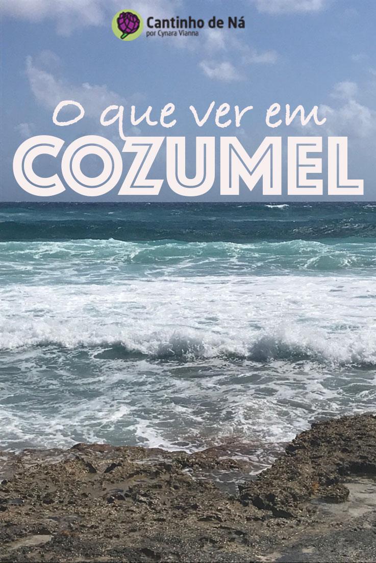 Roteiro de algumas horas em Cozumel no México