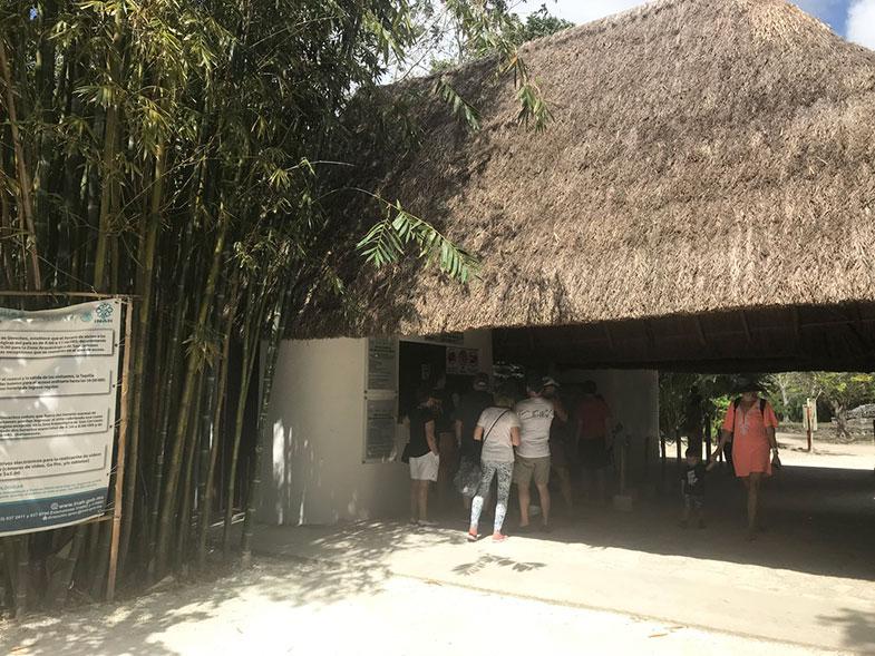 Bilheteria das ruínas de San Gervásio em Cozumel