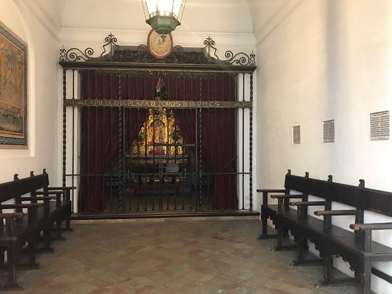 Capela da Plaza de Toros de Sevilha
