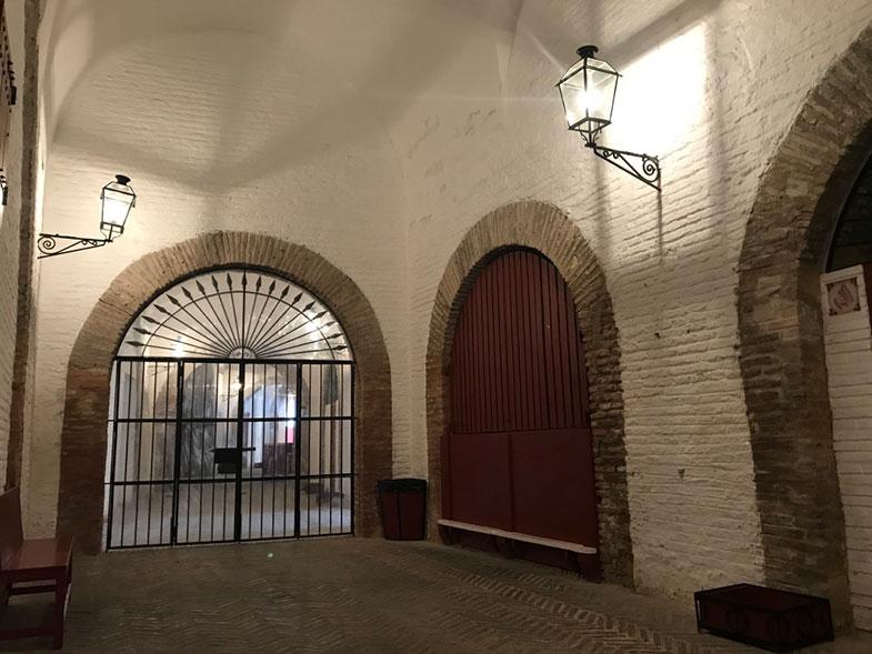 Interior da Plaza de Toros