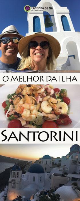 O que fazer em Santorini