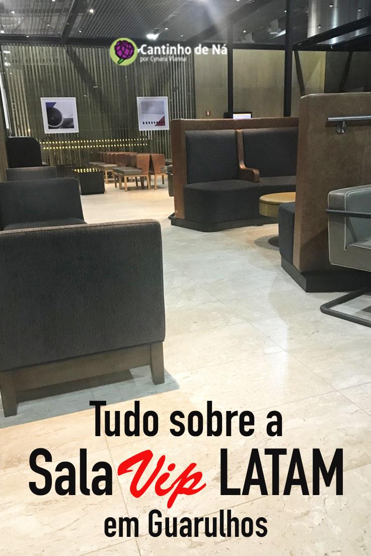 Tudo sobre a sala VIP da Latam em Guarulhos
