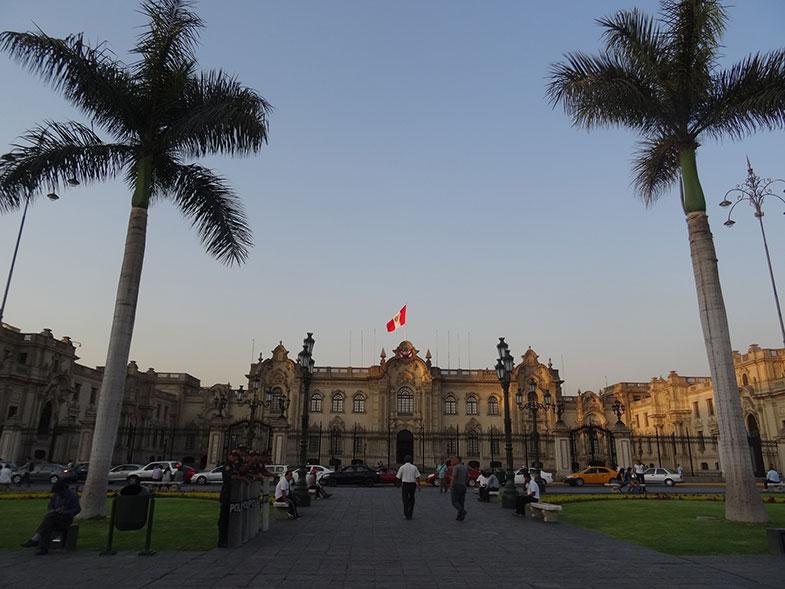 Palácio do Governo - Conexão em Lima
