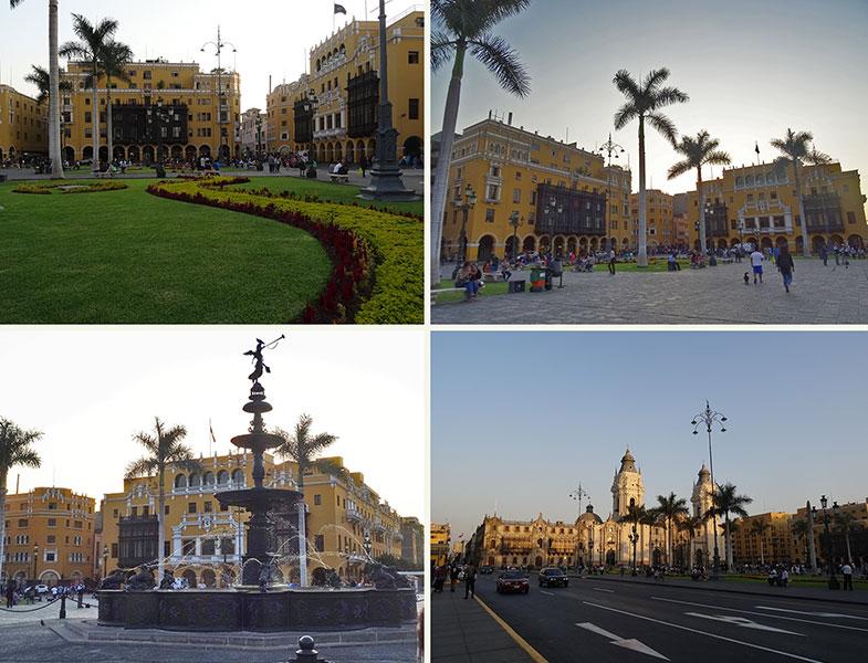 Praça as Armas - Conexão em Lima