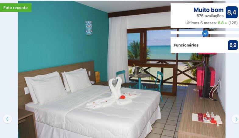 Hotel para feriados prolongados em Maragogi