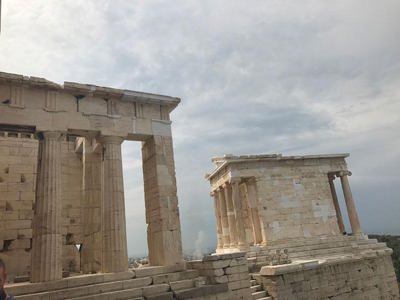 Templo de Atena Nike em Acrópole