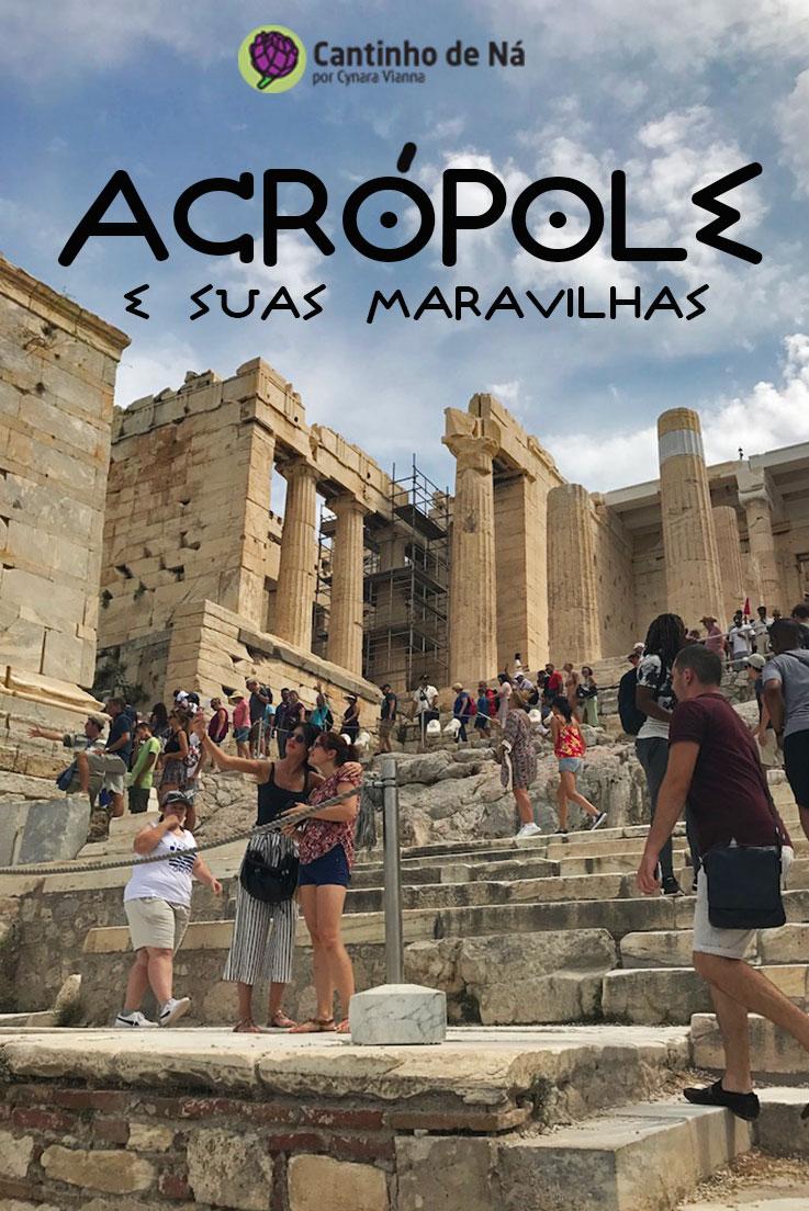 Como é a visita à Acrópole