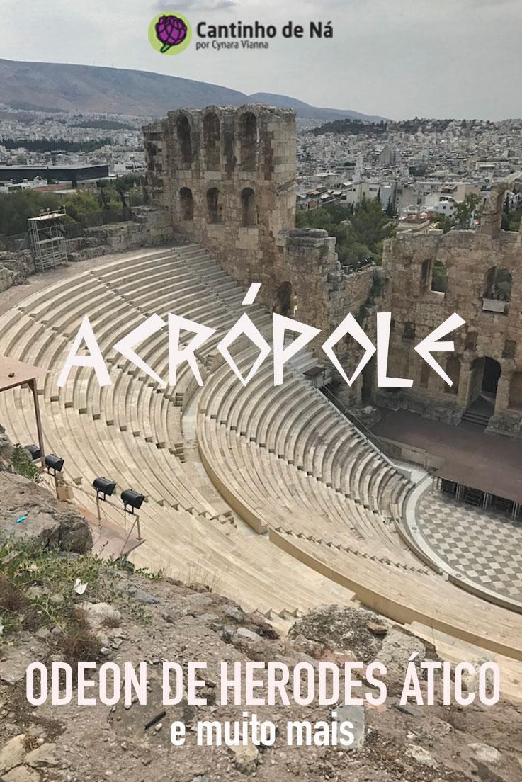 Visita à Acrópole de Atenas