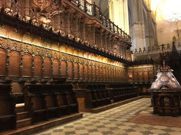 Detalhe do Coro da Catedral de Sevilha