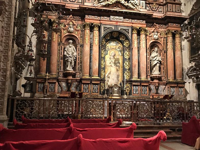 Capela de Santo Antonio na Catedral de Sevilha