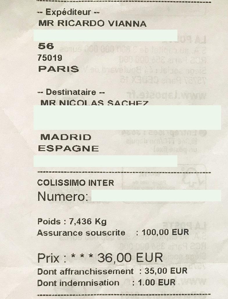 Como enviar pacotes entre países na Europa