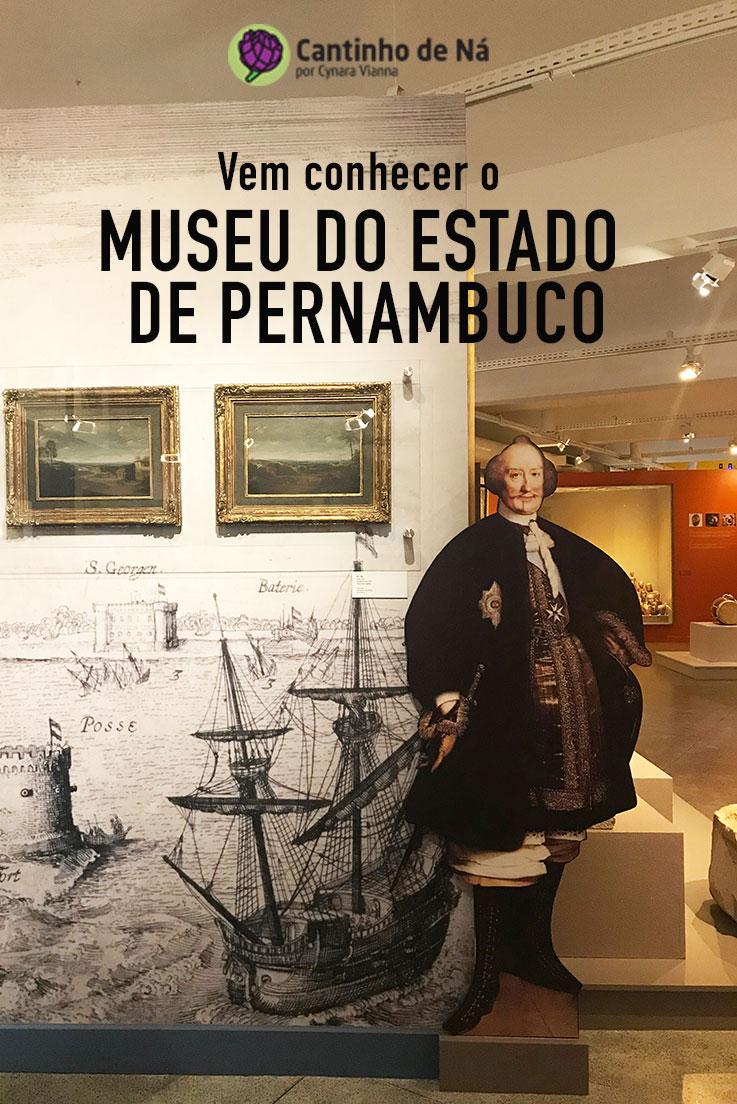 Visita ao Museu do Estado de Pernambuco
