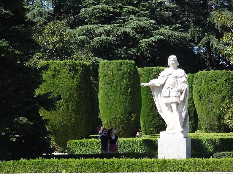 Escultura do Jardim de Sabatini
