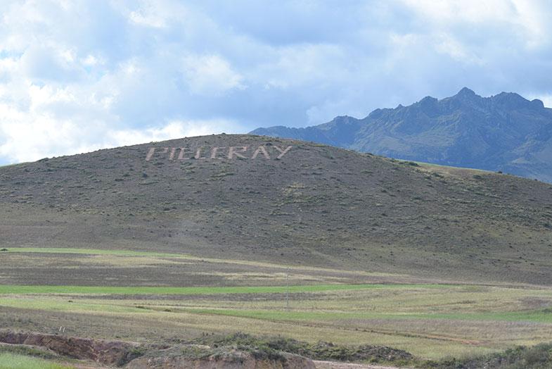 Estrada entre Cusco e Ollantaytambo