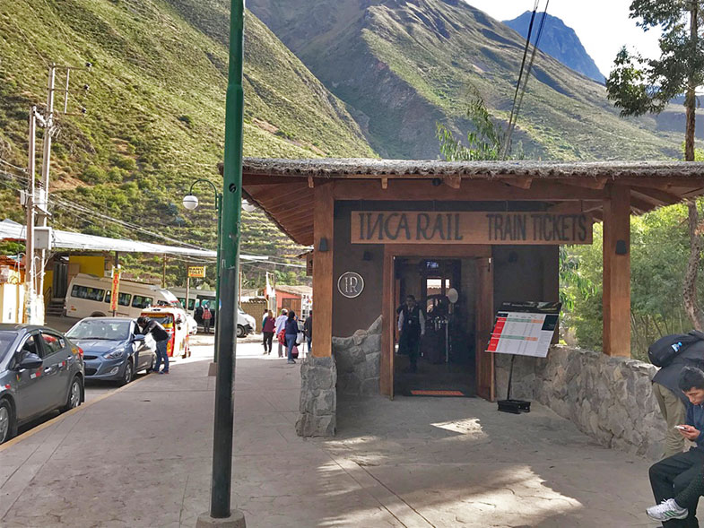 Inca Rail em Ollantaytambo