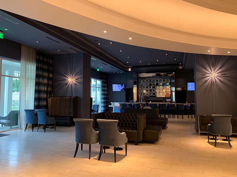 Bar do The Guest House at Memphis nosso hotel em Memphis