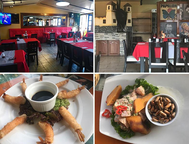 Onde comer em Cusco Papillon