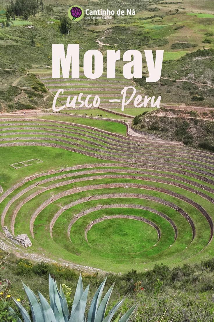 Moray um dos passeios perto de Cusco