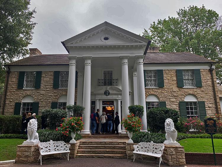 A mansão de Elvis em Memphis