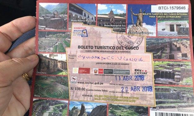 Boleto turístico de Cusco – porque temos que comprar